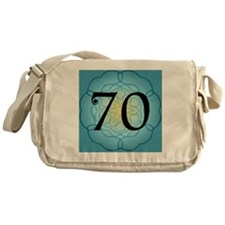 70th Birthday Party For Her Messenger Bag