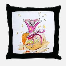 HoneyBunny Honey Bunny Throw Pillow
