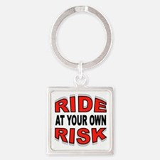 RISKY RIDE Keychains