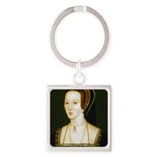 Anne Boelyn Square Keychain