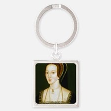 Anne Boelyn Square Keychain