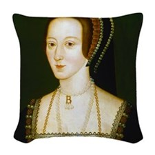 Anne Boelyn Woven Throw Pillow