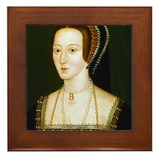 Anne Boelyn Framed Tile