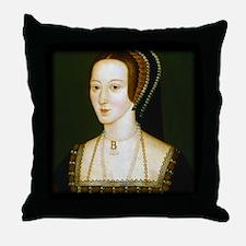 Anne Boelyn Throw Pillow