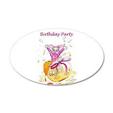 Honey Bunny - Birthday Party Invitation Wall Decal