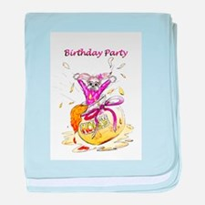 Honey Bunny - Birthday Party Invitation baby blank