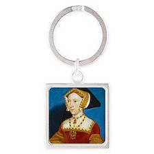 Jane Seymour Square Keychain