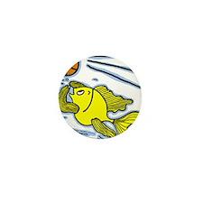 Fish Playing Basketball, Basketball Fish Mini Butt