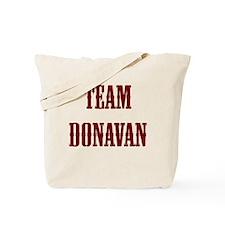 team donavan Tote Bag