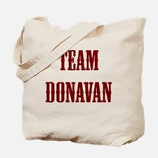 team donavan Tote Bag