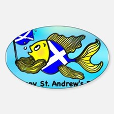 Happy St. Andrews Day Decal