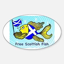 Free Scottish Fish Decal