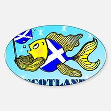 Scottish Flag Fish, Soctland, Fish Decal