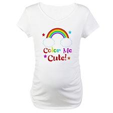 Color Me Cute Kids rainbow Design Shirt