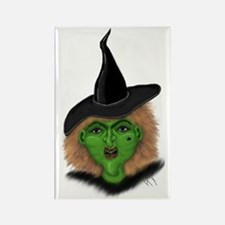 Witch Rectangle Magnet
