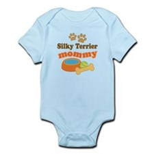 Silky Terrier Mom Infant Bodysuit