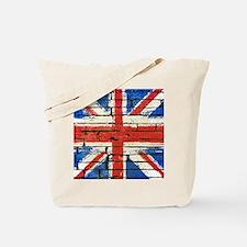 Grunge British Flag Tote Bag