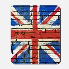 Grunge British Flag Mousepad