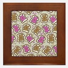 PBJ Sandwich Framed Tile