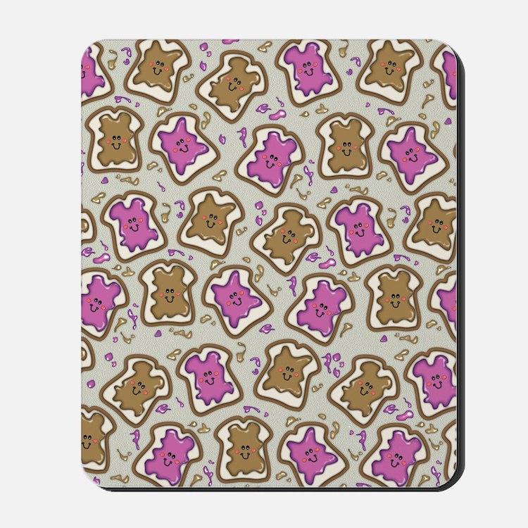 PBJ Sandwich Mousepad