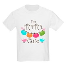 TuTu Cute Girl Design T-Shirt