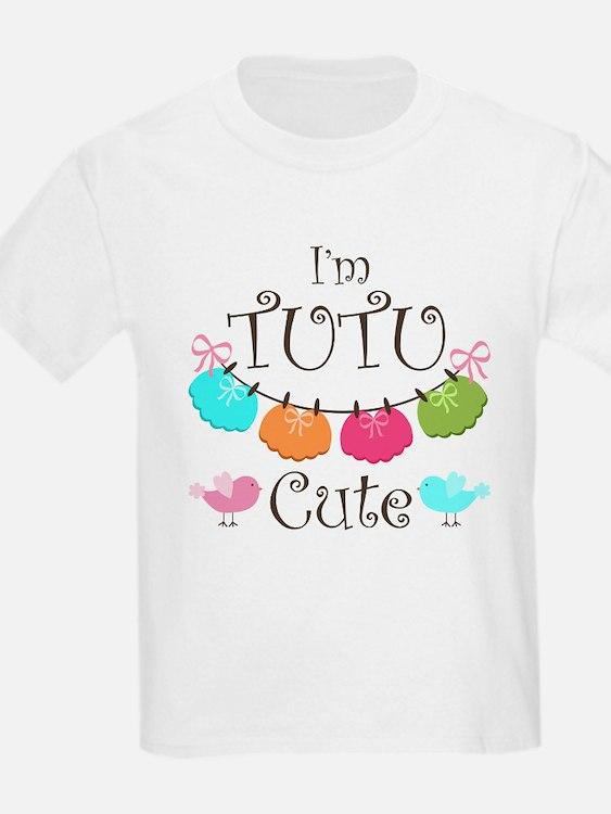 TuTu Cute Girl Design T-Shirt