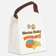 Siberian Husky Mom Canvas Lunch Bag
