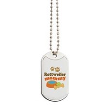 Rottweiler Mom Dog Tags