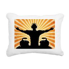 Sweepish House Mafia - H Rectangular Canvas Pillow