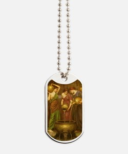 The Danaides by JW Waterhouse Dog Tags