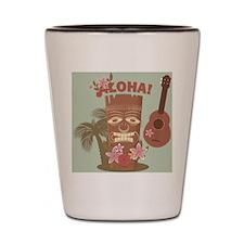 Vintage Hawaiian Shot Glass