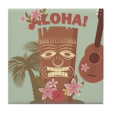 Vintage Hawaiian Tile Coaster