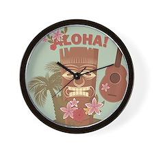 Vintage Hawaiian Wall Clock