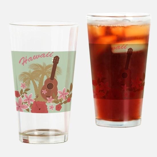Vintage Hawaiian Drinking Glass