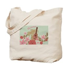 Vintage Hawaiian Tote Bag