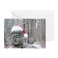 Buddha Claus Greeting Card