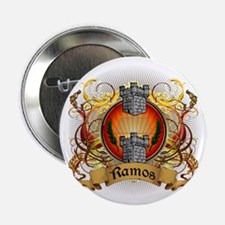 "Ramos Family Crest 2.25"" Button"