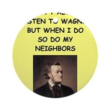 WAGNER Ornament (Round)