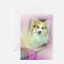 Pretty Corgi Valentine Greeting Card