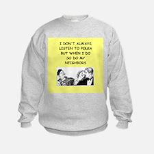 polka Sweatshirt
