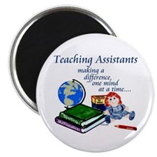 """Teaching Assistant 2.25"""" Magnet (100 pack)"""