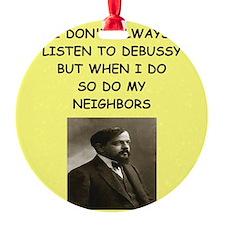 debussy Ornament
