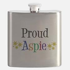 Proud Aspie Flask