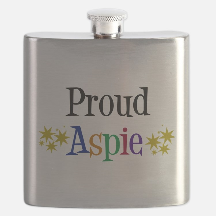 Proud Aspie Flask