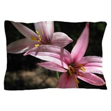 Pink Lily Pillow Case