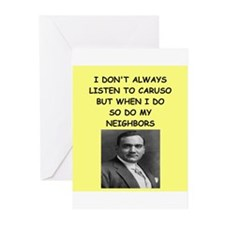 caruso Greeting Cards