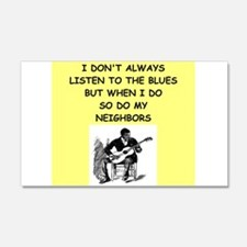 the blues Wall Decal