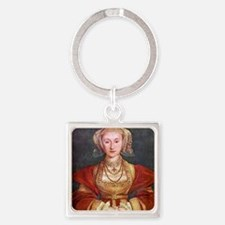 Anne of Cleves Square Keychain