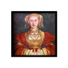 """Anne of Cleves Square Sticker 3"""" x 3"""""""
