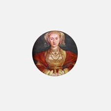 Anne of Cleves Mini Button